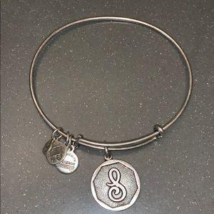 Alex and Ani   S initial bracelet